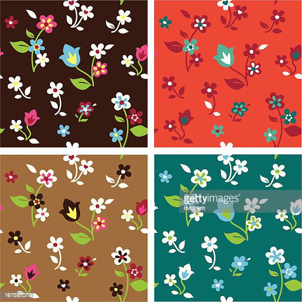 Floral Pattern Swatches
