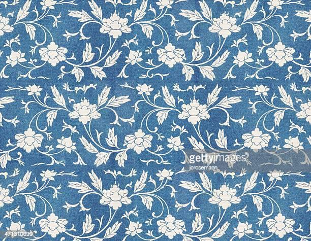 花の壁紙 - 花柄 パターン点のイラスト素材/クリップアート素材/マンガ素材/アイコン素材