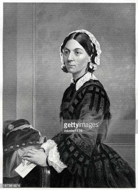 florence nightingale - florence nightingale stock illustrations