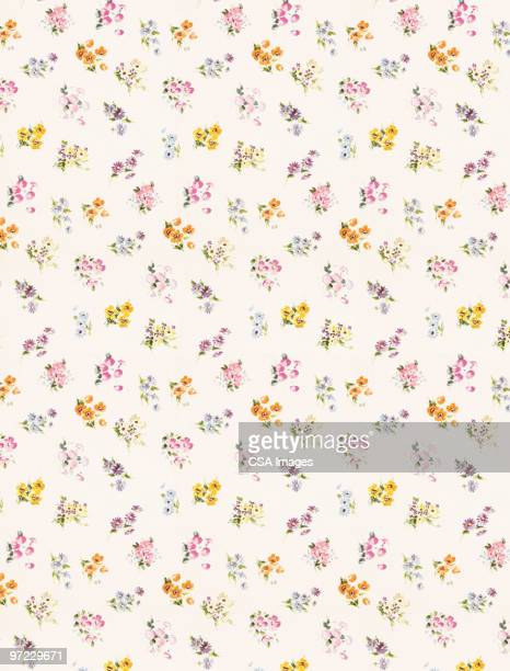 flower pattern - pattern stock illustrations