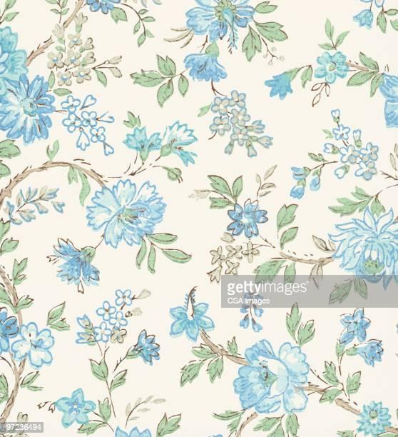 flower pattern - image stock illustrations