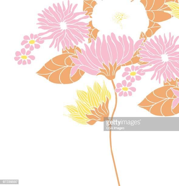 illustrations, cliparts, dessins animés et icônes de flower pattern - bouquet de fleurs