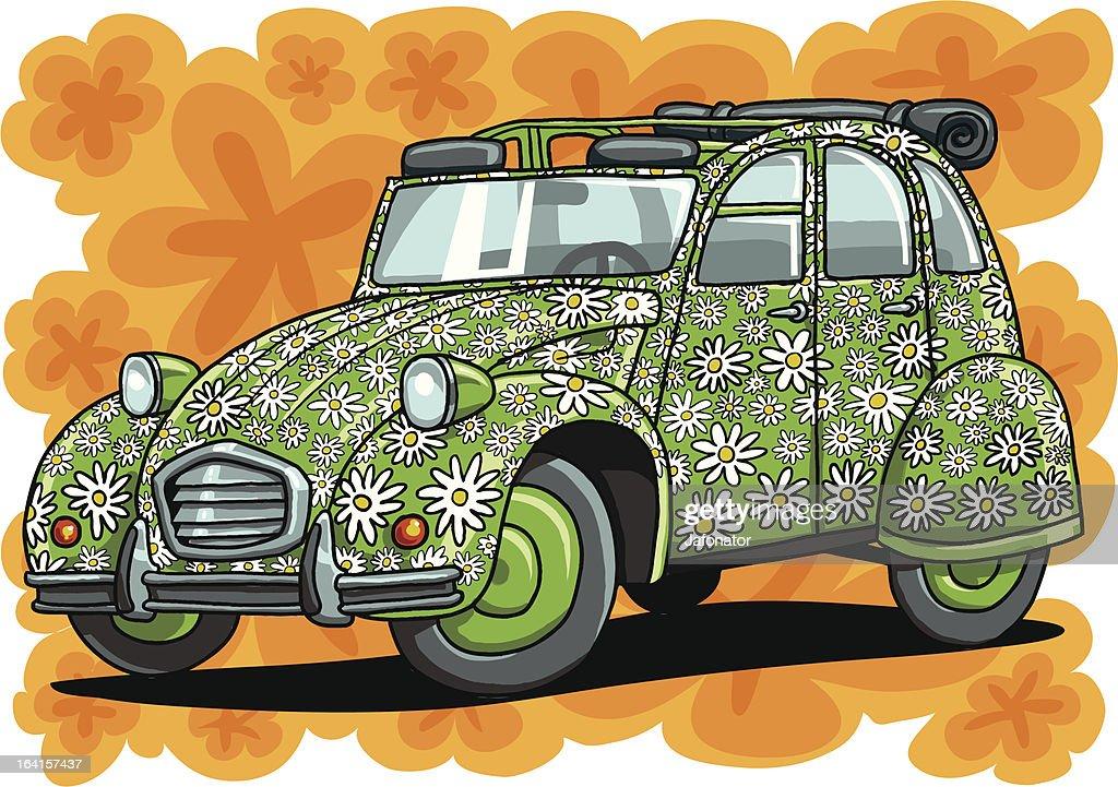 flowerpower car