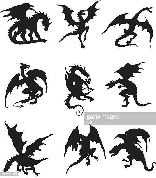 Dragones voladores