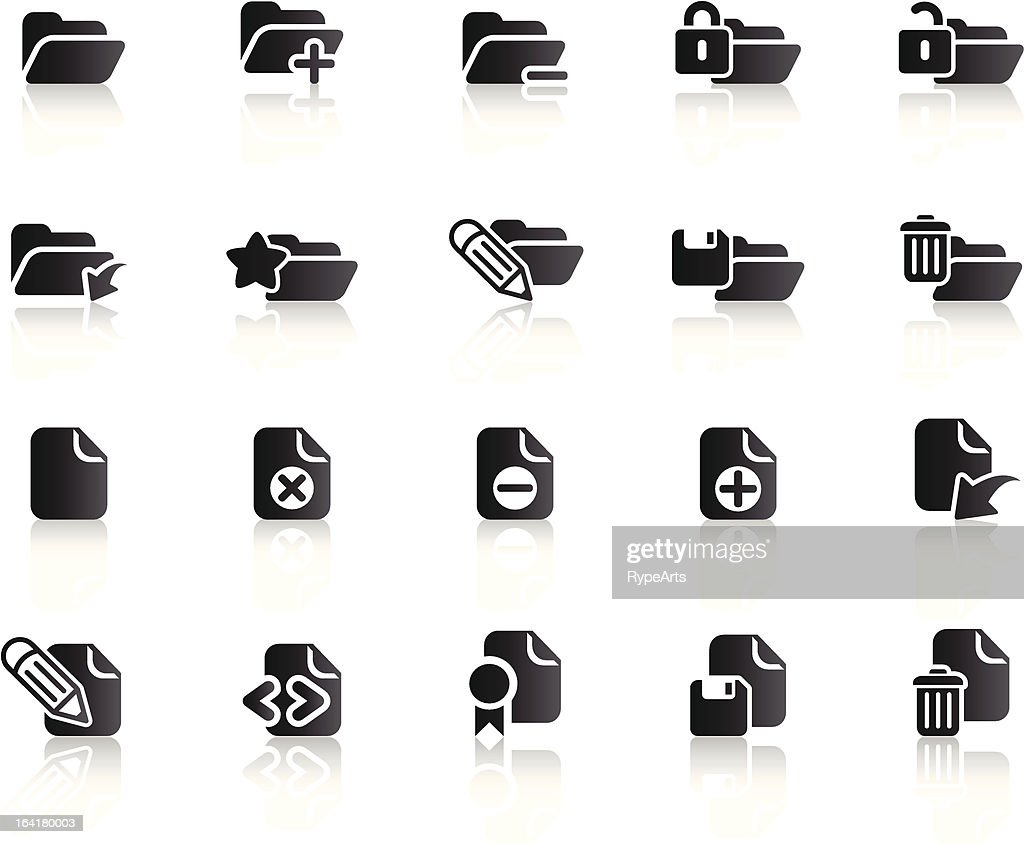 Folder and Document Icons (Ref 1)