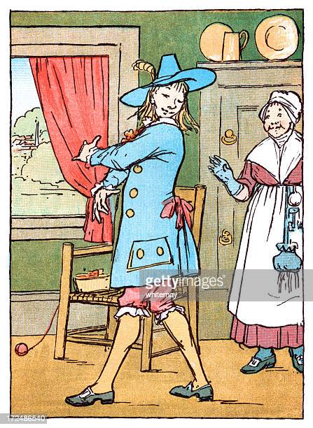 fond mother admiring her son's new clothes - sunday best stock illustrations, clip art, cartoons, & icons