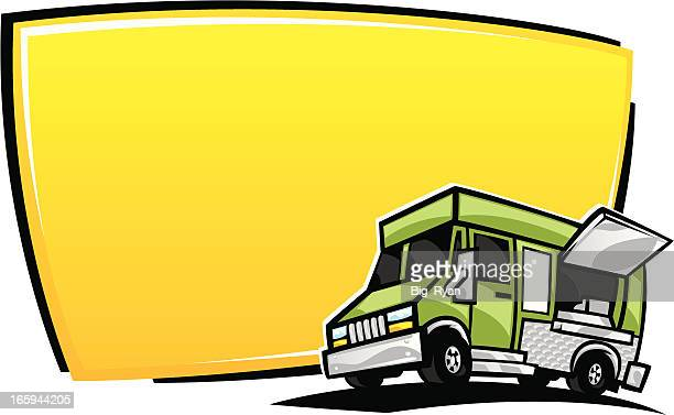 Food Truck Stock Illustrations And Cartoons