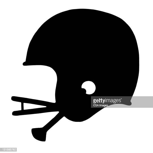 football helmet - helmet stock illustrations