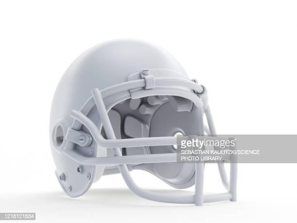 football helmet, illustration - safety stock illustrations
