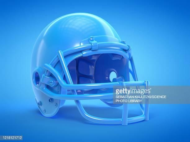 football helmet, illustration - protection stock illustrations