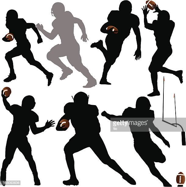 Football Silhouettes