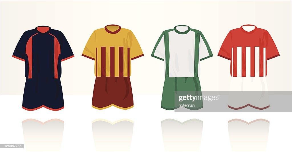 Football Sportswear : stock illustration