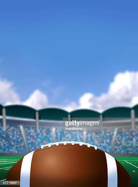 football stadium background - football league stock illustrations