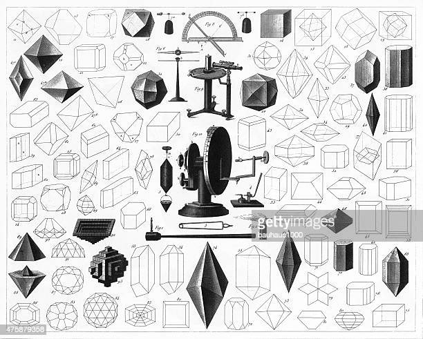 Forms of Crystallization and Various Instruments Engraving