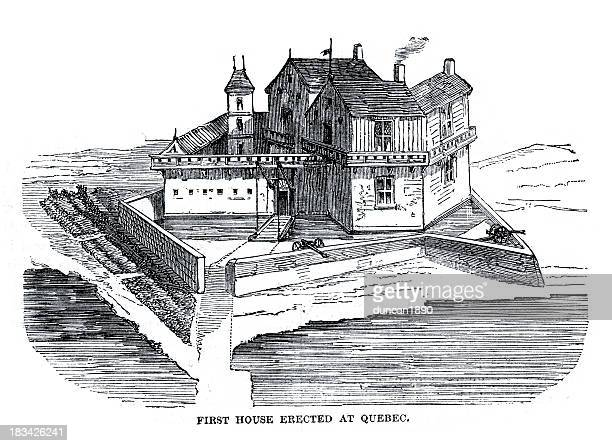 Fortified Colonial House