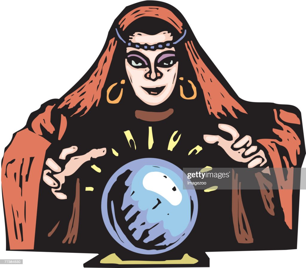 Fortune teller : Vector Art