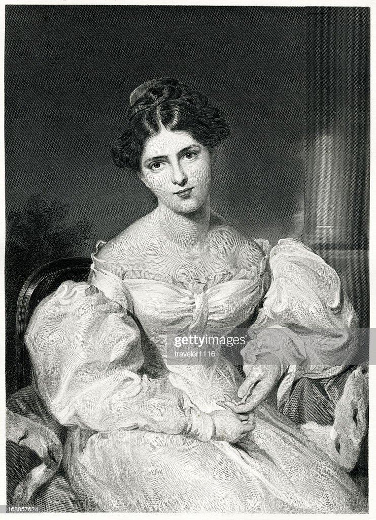 Frances Anne Kemble : Stock Illustration