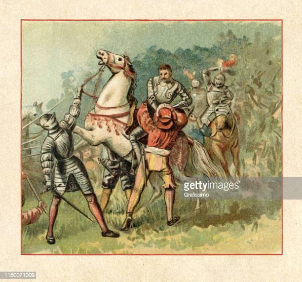 フランスのフランシス・ i 王がパヴィア1525の戦いで捕らえられました - イタリア パヴィア点のイラスト素材/クリップアート素材/マンガ素材/アイコン素材