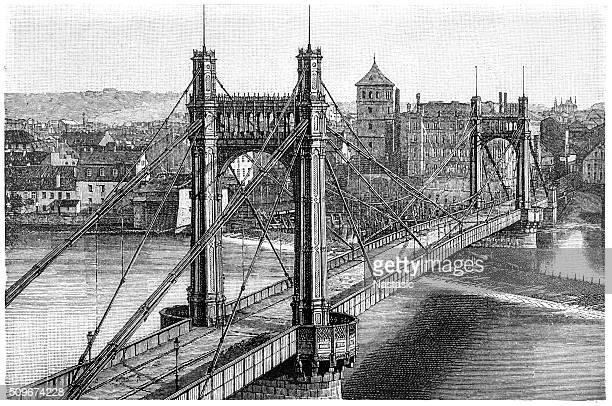 franz joseph bridge - prague stock illustrations, clip art, cartoons, & icons