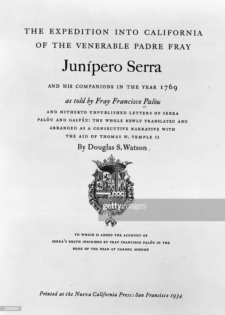 UNS: In Focus: Father Serra To Be Canonized Today By Pope Francis