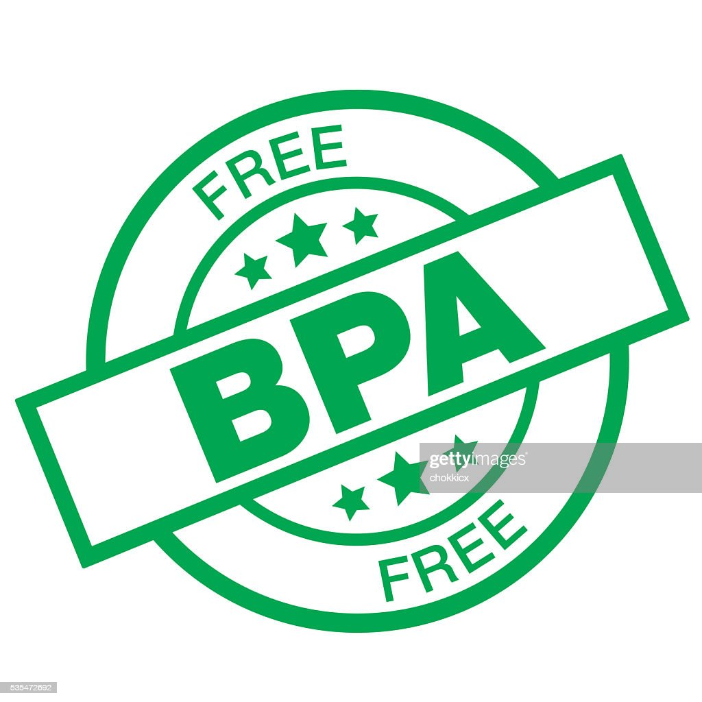 BPA Free : stock illustration