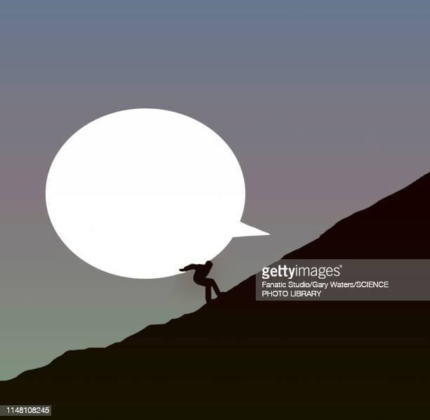 freedom of speech, illustration - thought bubble stock illustrations