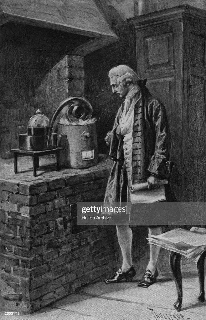 Lavoisier At Work : Fotografia de notícias