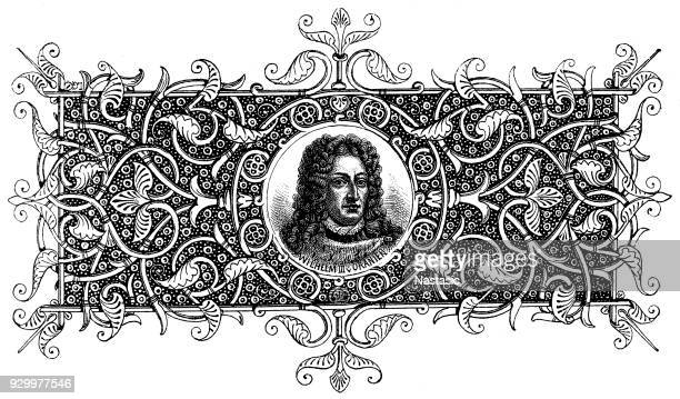 french king louis xiv (1638 - 1715) - louis xiv of france stock illustrations, clip art, cartoons, & icons