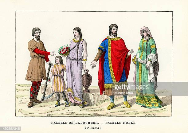 French Period Costumes 5th Century