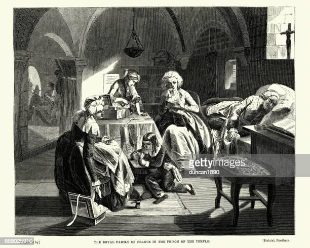 French revolution - Royal Family in Prison
