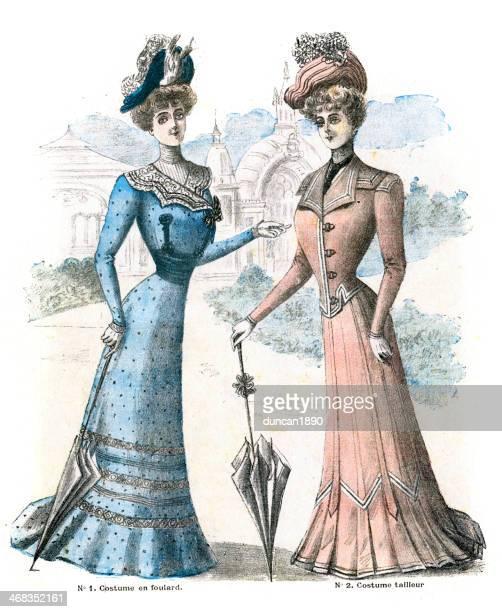French Womens Fashion 1900