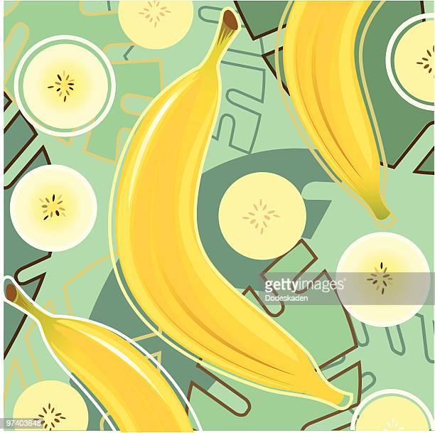 fresh taste of banana - banana stock illustrations, clip art, cartoons, & icons
