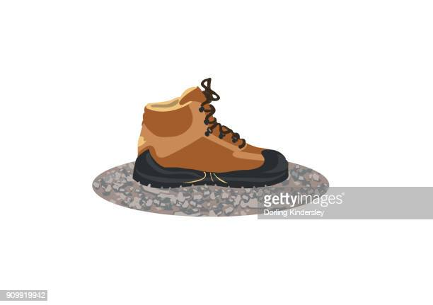 Friction walking boot