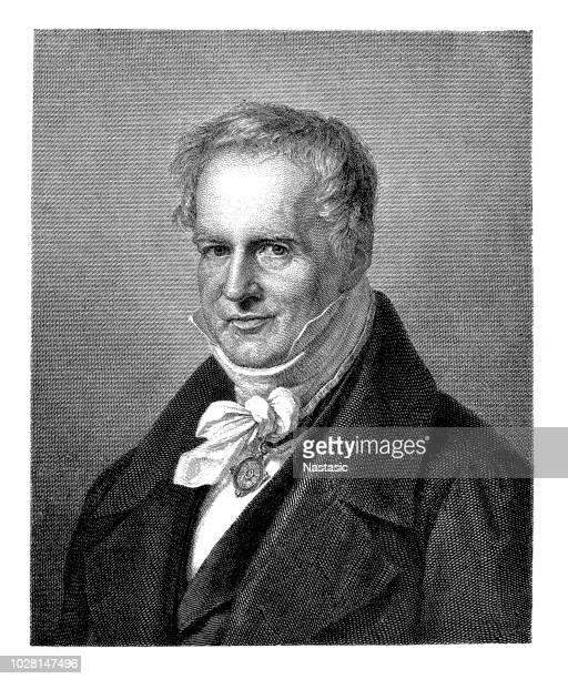 Geógrafo prusiano Friedrich Wilhelm Heinrich Alexander von Humboldt, naturalista, explorador y exponente del fundador del romanticismo de la biogeografía