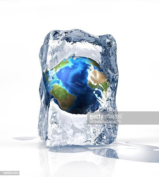 Frozen Earth, conceptual artwork