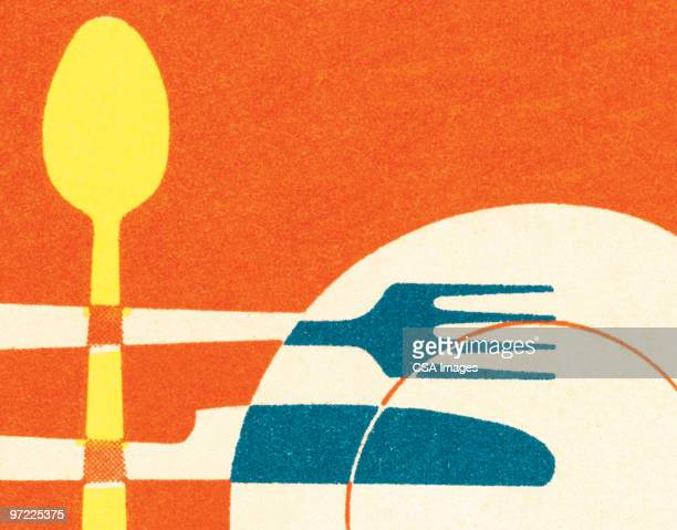 fruit - four objects stock illustrations