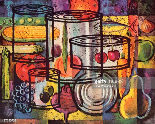 World S Best Canned Food Stock Illustrations Getty Images