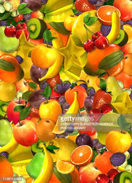 fruits, illustration - freshness stock illustrations