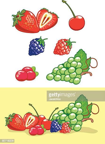 fruitticious - clip art点のイラスト素材/クリップアート素材/マンガ素材/アイコン素材
