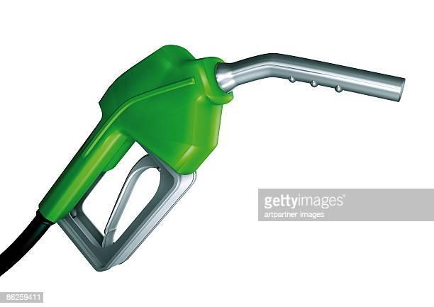fuel nozzle or filler for petrol fuel or gasoline - {{asset.href}} stock illustrations