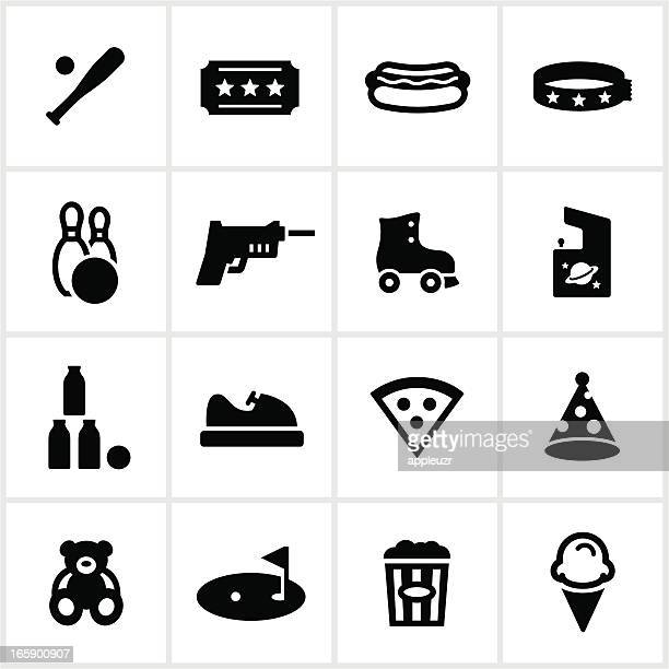 Fun Center and Amusement Park Icons