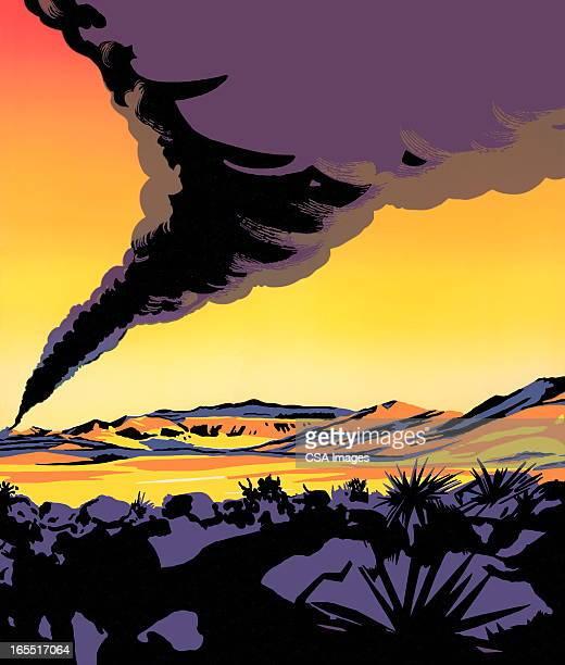 Funnel Cloud of Smoke