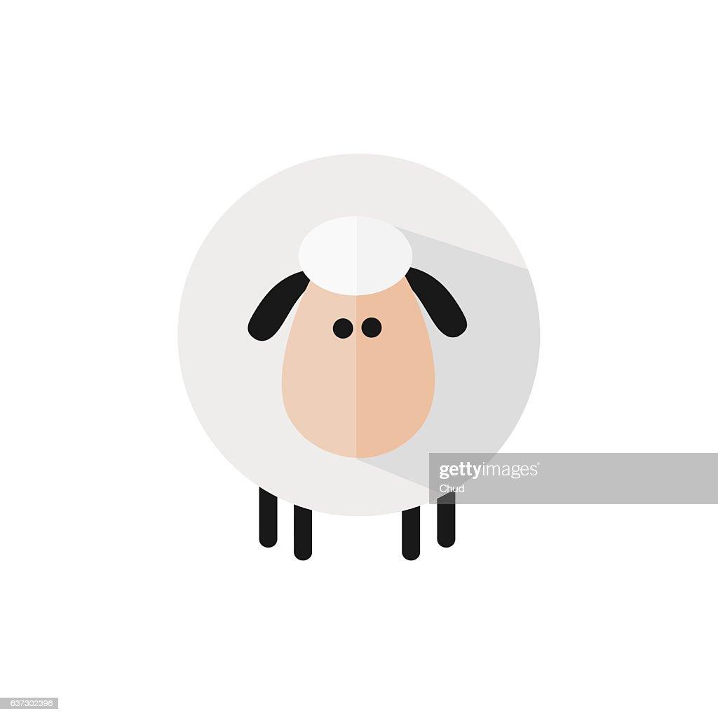Funny Sheep : Ilustración de stock