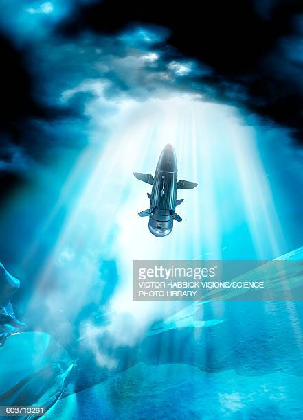 futuristic space craft, illustration - 潜水艦点のイラスト素材/クリップアート素材/マンガ素材/アイコン素材