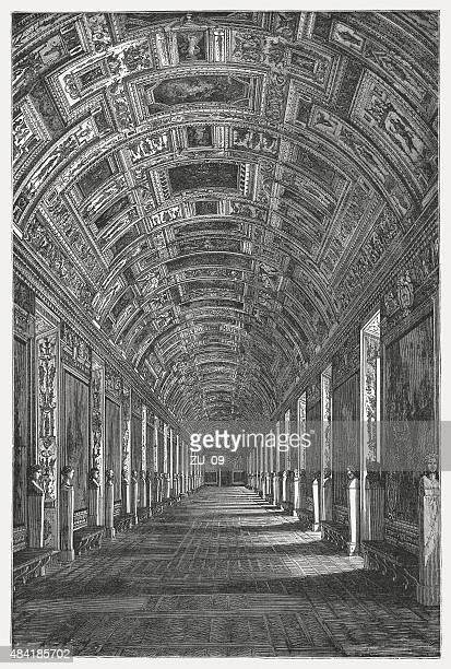 Gallery of Maps, Vatican, published in 1878