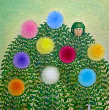 Garden flowers  - gettyimageskorea
