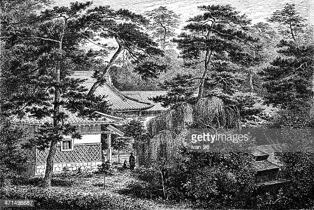 garden of the British legation