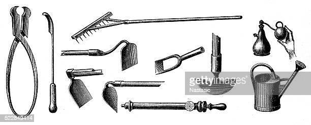 gardening equipment - scoop shape stock illustrations, clip art, cartoons, & icons