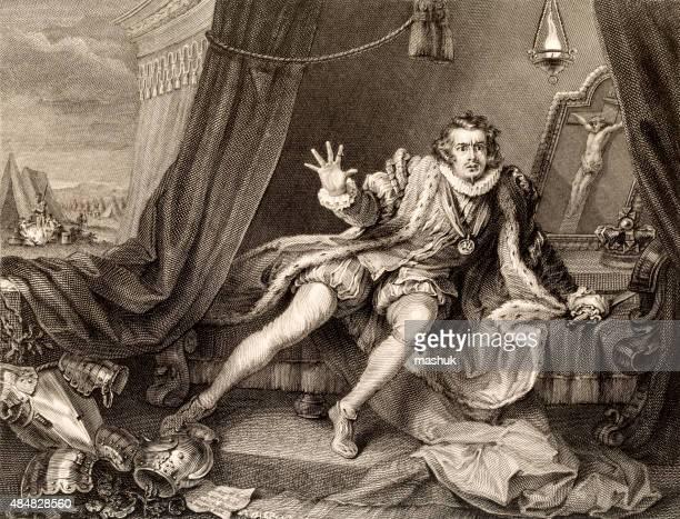 Garrick, 19 century illustration