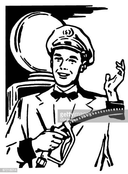 gas - one young man only stock illustrations